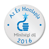 Év Honlapja 2016 - Minőségi díj