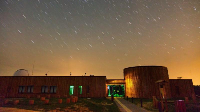 Távcsöves bemutató a Zselici Csillagparkban